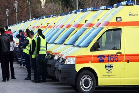 Δωρεά 143 Ασθενοφόρων στο ΕΚΑΒ από το Ίδρυμα Σταύρος Νιάρχος